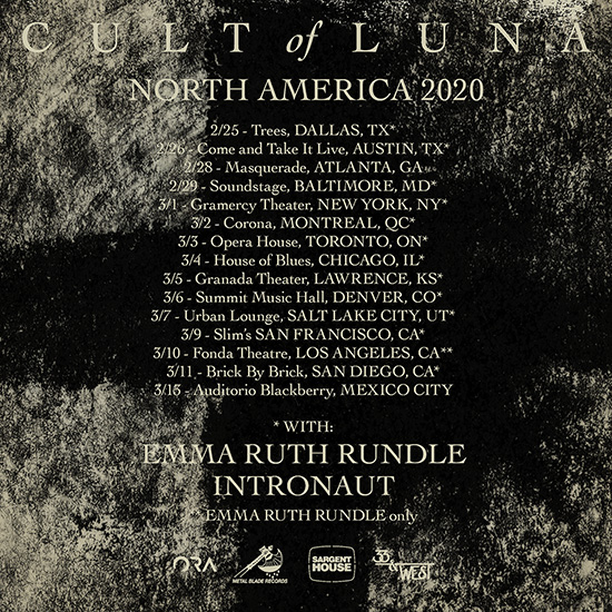 Cult of Luna, Emma Ruth Rundle & Intronaut at Gramercy Theatre