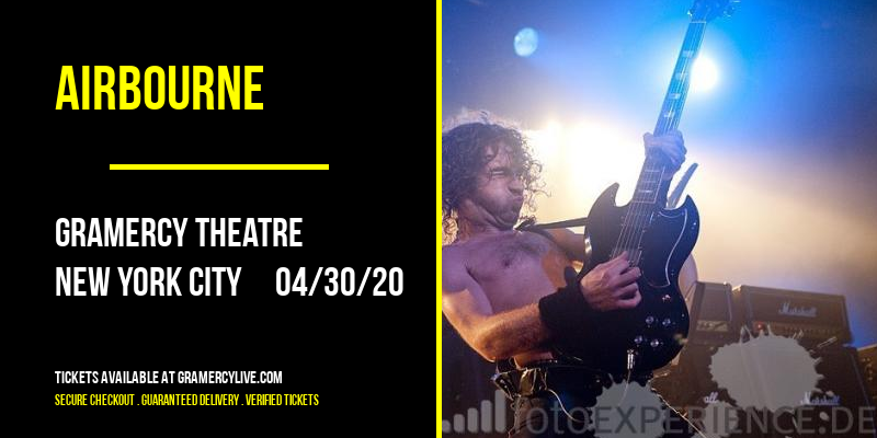 Airbourne at Gramercy Theatre