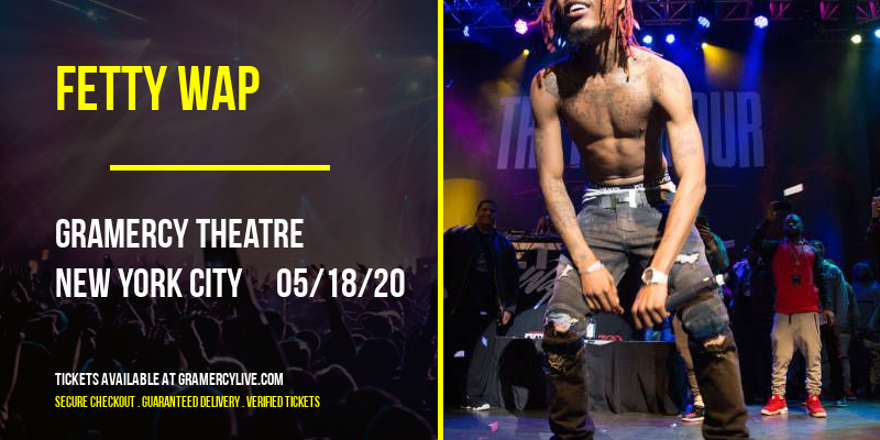 Fetty Wap at Gramercy Theatre