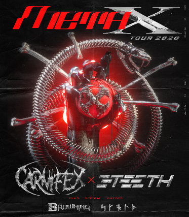 Carnifex & 3Teeth at Gramercy Theatre