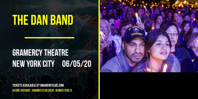 The Dan Band [POSTPONED] at Gramercy Theatre