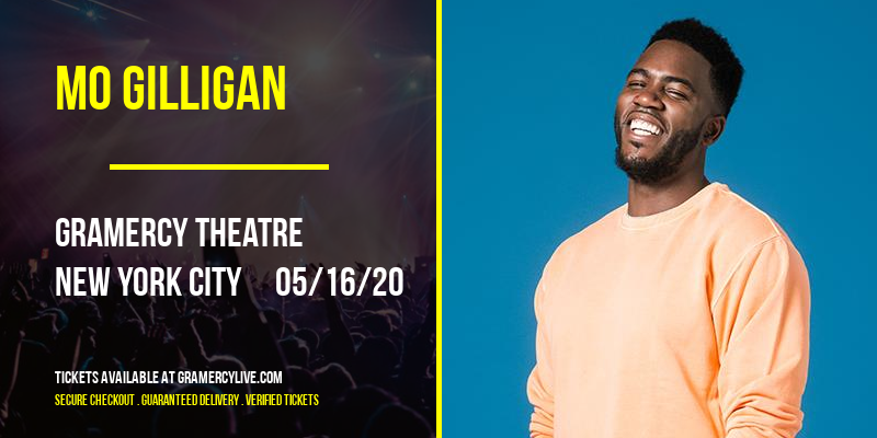 Mo Gilligan [CANCELLED] at Gramercy Theatre
