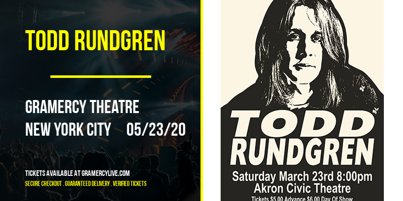 Todd Rundgren at Gramercy Theatre