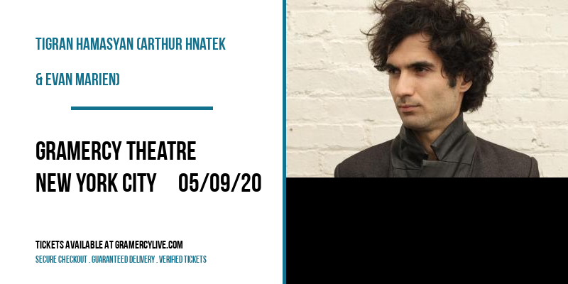 Tigran Hamasyan (Arthur Hnatek & Evan Marien) at Gramercy Theatre