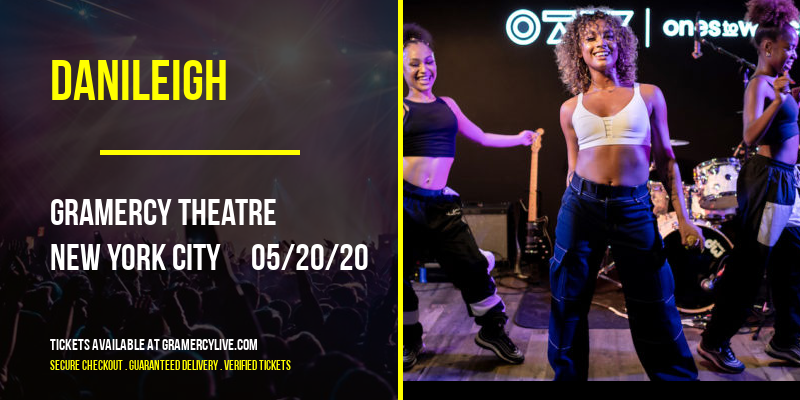DaniLeigh [CANCELLED] at Gramercy Theatre