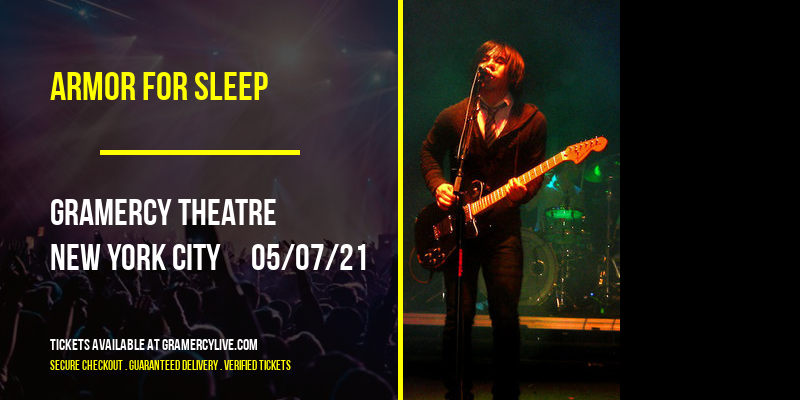 Armor for Sleep at Gramercy Theatre