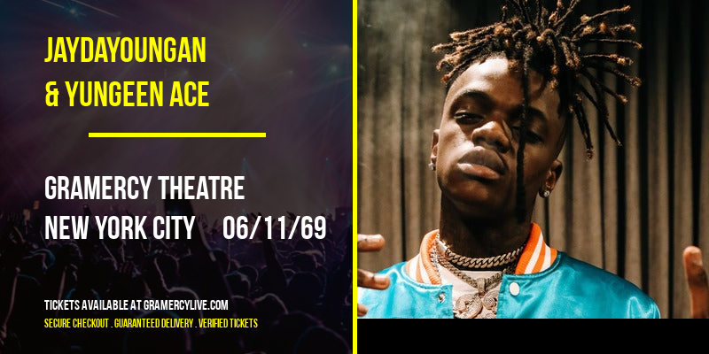 JayDaYoungan & Yungeen Ace [CANCELLED] at Gramercy Theatre