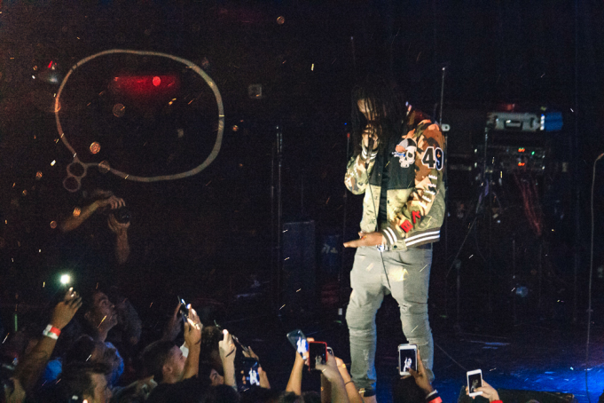 Young Nudy at Gramercy Theatre