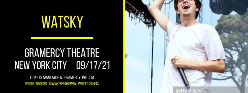 Watsky [CANCELLED] at Gramercy Theatre