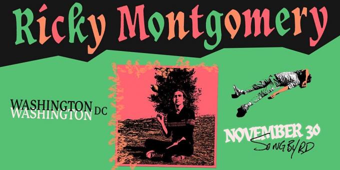 Ricky Montgomery at Gramercy Theatre