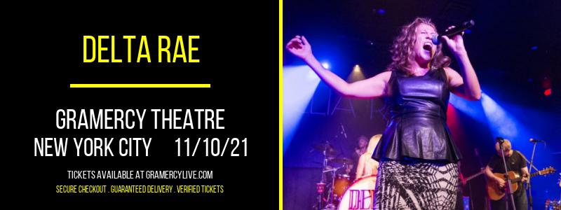Delta Rae at Gramercy Theatre