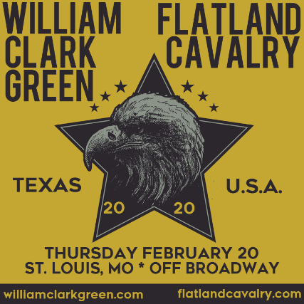 William Clark Green & Flatland Cavalry at Gramercy Theatre