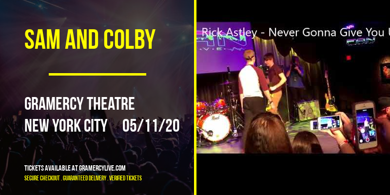 Sam and Colby at Gramercy Theatre