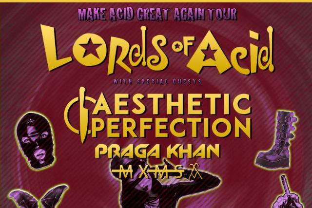 Lords of Acid, Aesthetic Perfection & Praga Khan [POSTPONED] at Gramercy Theatre