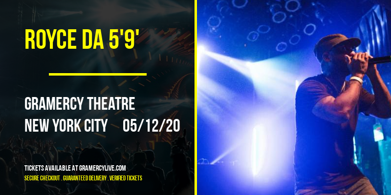 Royce Da 5'9' [CANCELLED] at Gramercy Theatre