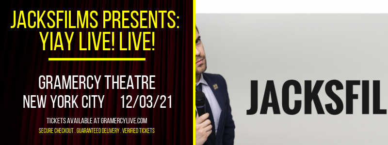 Jacksfilms Presents: Yiay Live! Live! at Gramercy Theatre