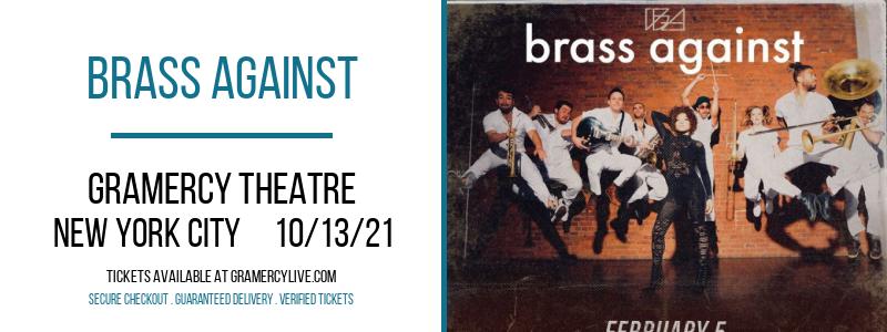 Brass Against at Gramercy Theatre