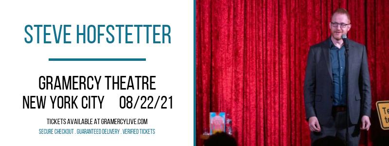Steve Hofstetter at Gramercy Theatre