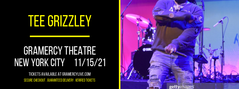 Tee Grizzley at Gramercy Theatre